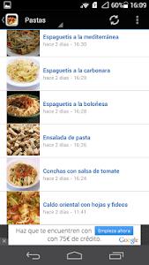 Recetas de cocina screenshot 5