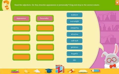 İngilizce 7 KOZA Z-Kitap  Demo screenshot 6