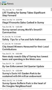 MySurrey screenshot 2