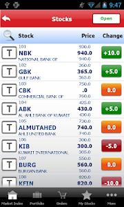 Gulf Bank Mobile Trader screenshot 2