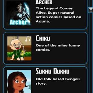 Comics design India screenshot 4