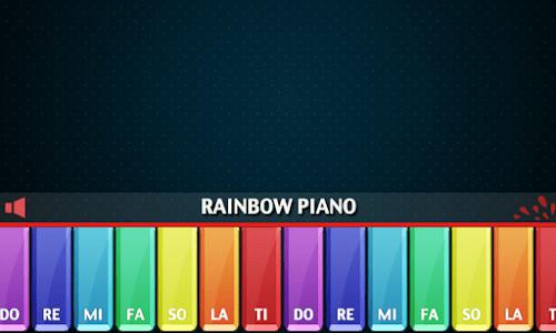 Rainbow Piano screenshot 4