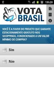 Vota Brasil screenshot 3
