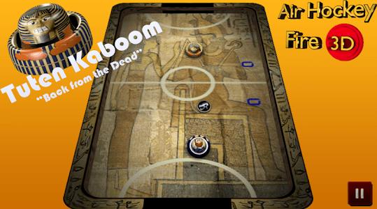 Air Hockey Fire 3D screenshot 9