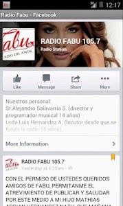 Radio Fabu Guayaquil - Ecuador screenshot 1