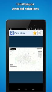 Paris Metro Map screenshot 0