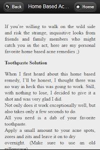 Advance Acne Treatment screenshot 3