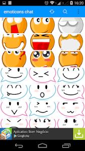 emoticons chat screenshot 1