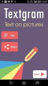 Textgram - Text on Pics screenshot 0
