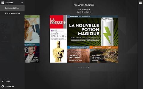 La Presse+ screenshot 1