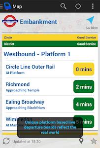 Depart: London Transport Live screenshot 3