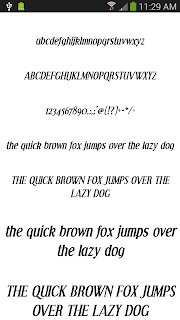 Fonts for FlipFont 50 #3 screenshot 06