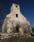 Szent Balázs hegyi templomrom