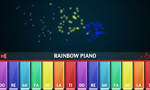 Rainbow Piano screenshot 13