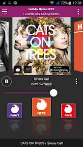 Hotmixradio screenshot 2