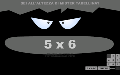 Mister Tabellina screenshot 4