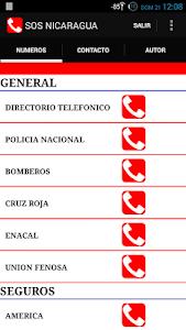 SOS NICARAGUA screenshot 3