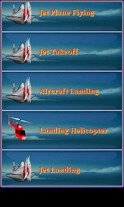 Airplane & Helicopter Ringtone screenshot 1