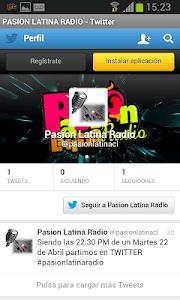 Pasión Latina Radio screenshot 2