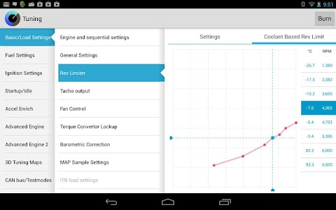 MSDroid – Dashboards, tuning and logging for MegaSquirt ECUs  Note
