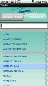 VeloCity - Rennes screenshot 2