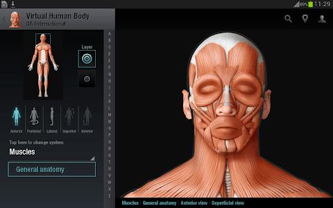 Virtual Human Body screenshot 8