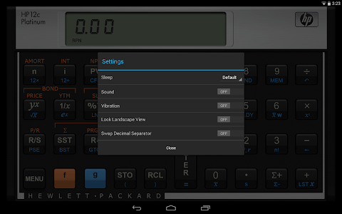HP 12C Platinum Calculator screenshot 8