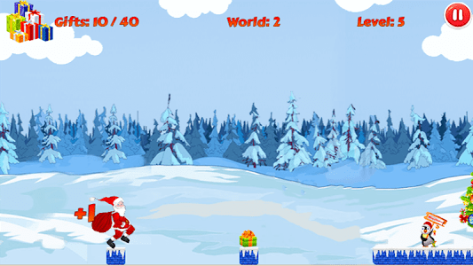 Christmas Santa Run screenshot 6