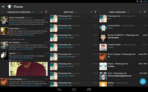 Plume for Twitter screenshot 06