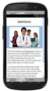 Dysphagia Disease & Symptoms screenshot 1