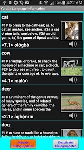 Speak/Write Yoruba Language screenshot 3