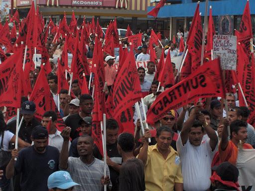 Suntracs en defensa de la Seguridad Social de Panamá