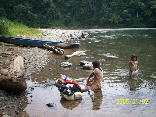 R�o Changuinola de aguas intactas