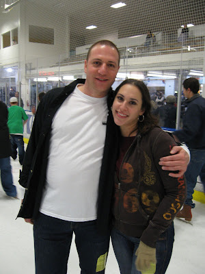 Jewish young adults ice skating at Logitech Ice, Sharks Ice, 2007