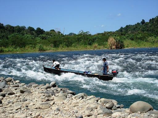Rio Teribe, Comarca Naso, Bocas del Toro