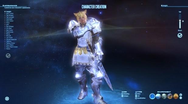 Final Fantasy XIV Character Creation