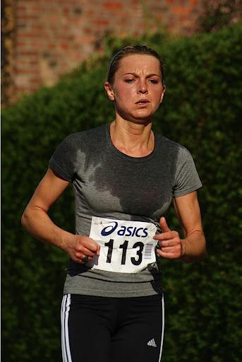 Isabelle Vincke, 10 km prestatieloop, Krottegemse Corrida 2013, Roeselare Loopt