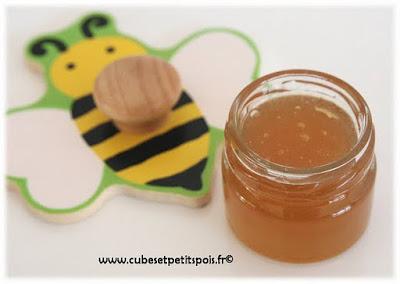 miel pour bebe cubes petits pois
