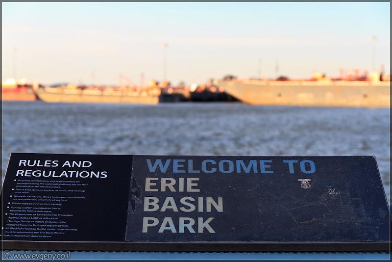 Америка 2.0 / Нью Йорк - Erie Basin Park
