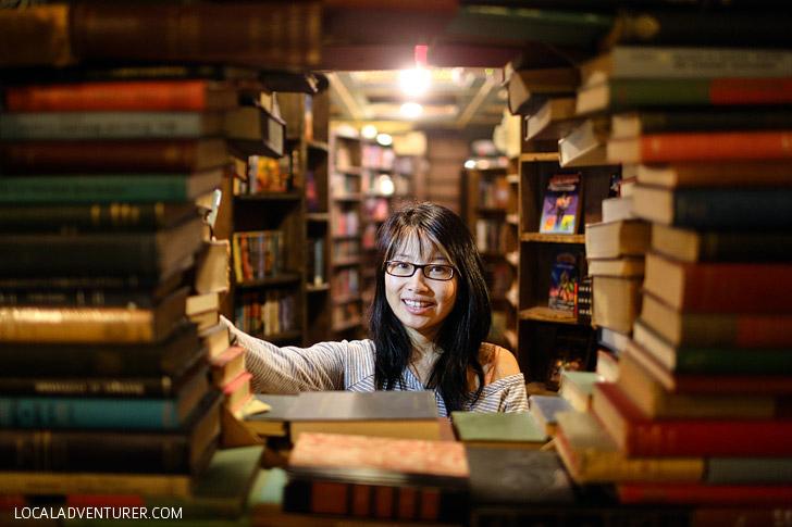 The Last Book Store in LA.