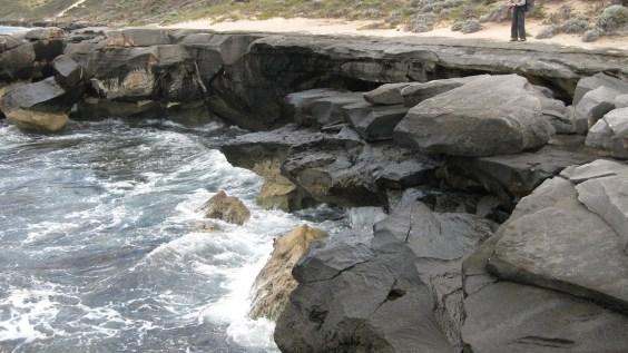 Limestone platforms - Cape to Cape Track