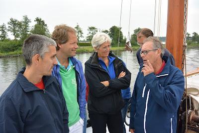 Schipper Jelle verteld over de Frisia