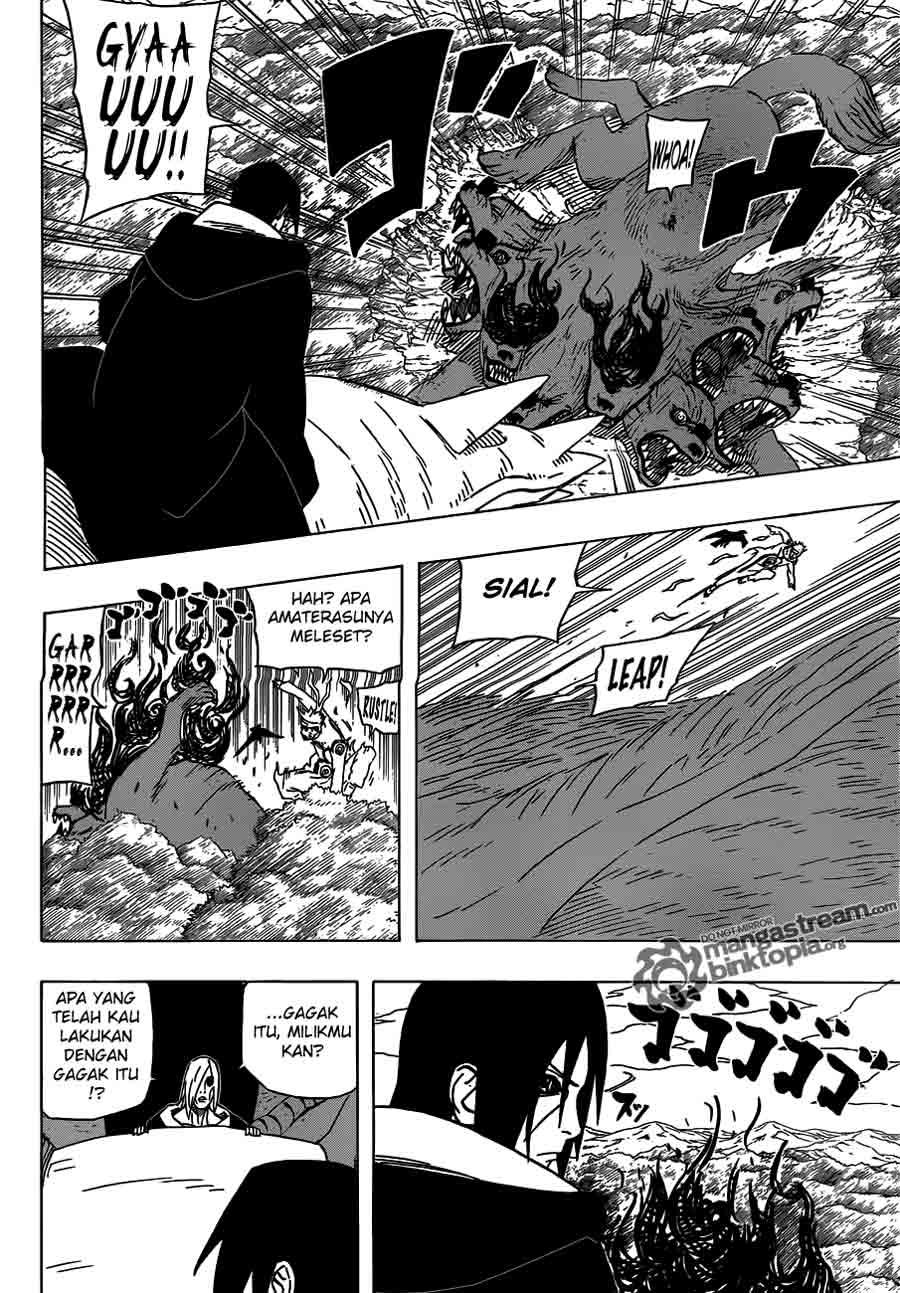 Manga naruto 550 page 7