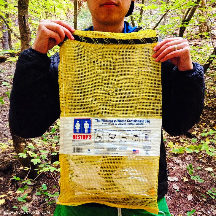 The Wilderness Waste Containment Bag.