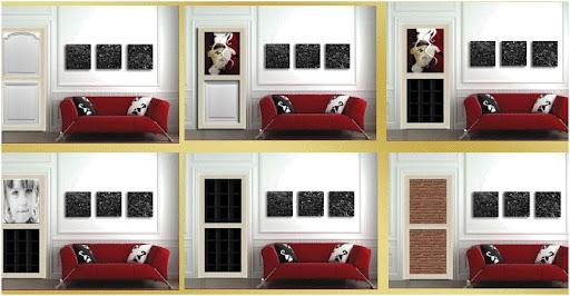decoracion de puertas paneles