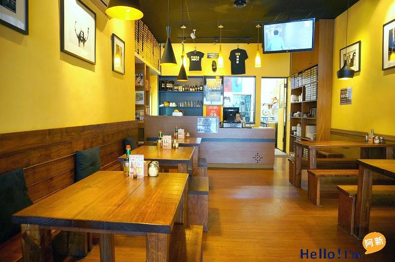 台中精明商圈餐廳,搖滾披薩-4