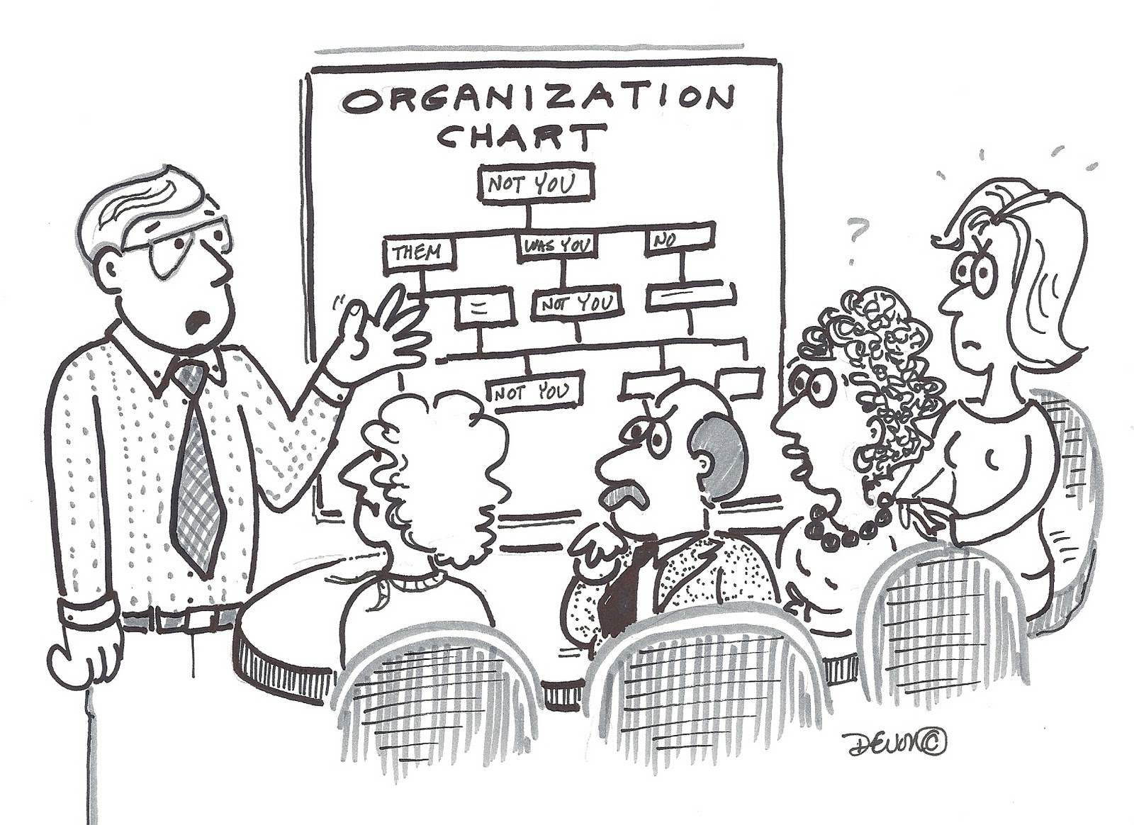 Babybummers Cartoon Off The Organization Chart