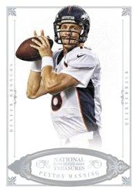 2012 Panini National Treasures Base Peyton Manning