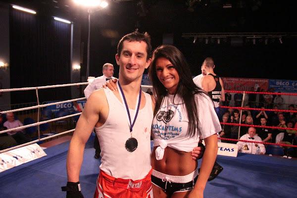 Julien Aelvoet vs Thomas Williame, boksmeeting Harelbeke 22 maart 2014