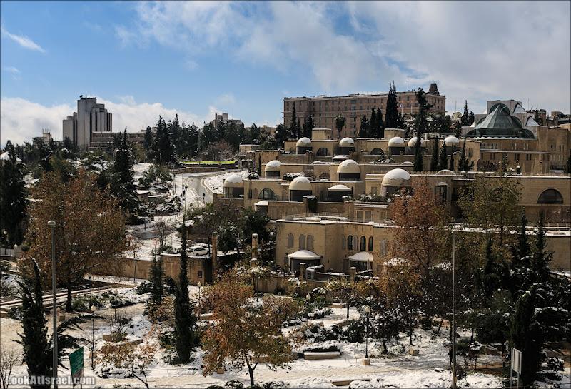 Снег в Иерусалиме. Часть III - Современный город